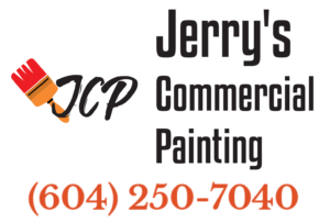 Jerry commercial painting Vancouver logo