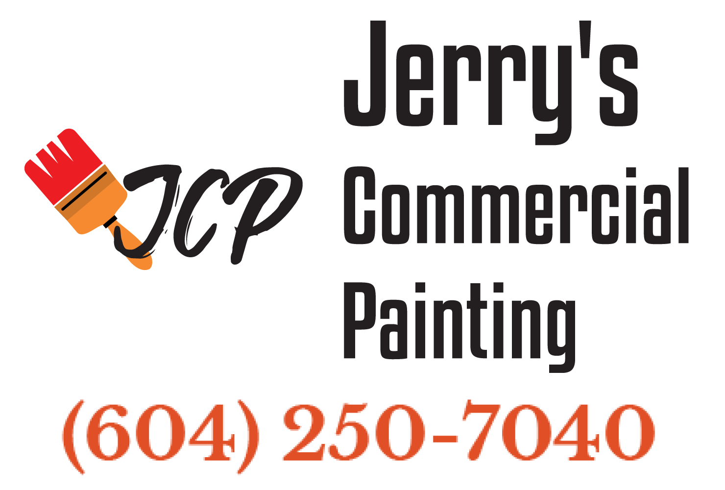 Jerry's Commercial Painting Logo