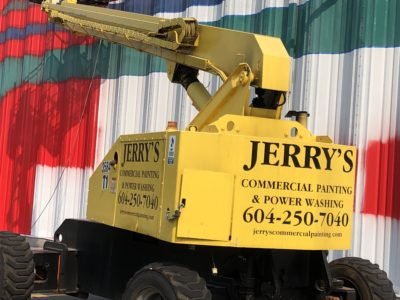 Jerry painters Langley commercial painting